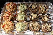 Pieczarki faszerowane z piekarnika