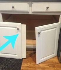 The double door base cabinet turned into a giant mess of pots and pans and Tupperware.   I need a solution to make it more useable. I removed the 2x doors and t…