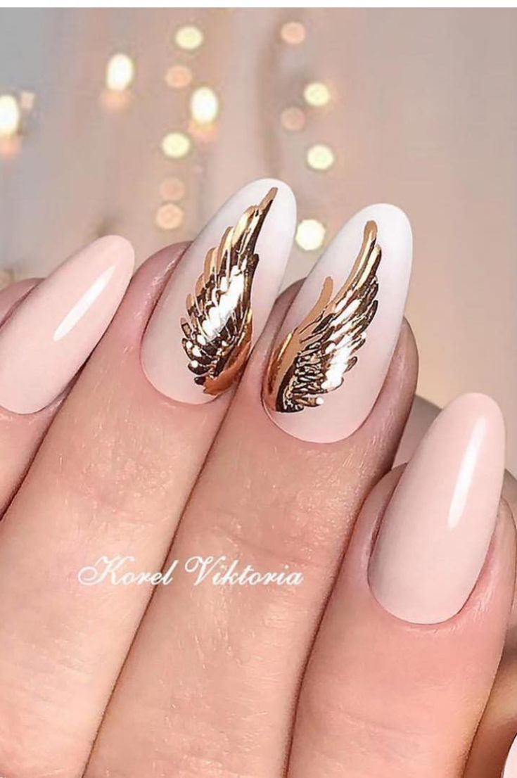 Spring Summer Nail Ideas Nail Decorating Ideas Trends And Tips New 2019 Page 36 Of 51 Clear Crochet Gold Nail Art Nail Art Gold Nails