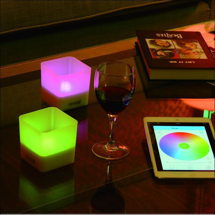 Revogi Smart Candle Light---Choose you favorite colors & Bring some instant romance into your interior :) #smarthome #candlelight