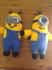 """At Home with the Lunchbox Guru: Free """"Despicable Me"""" Minion Knitting Patterns"""