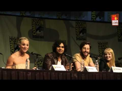 Missed the Big Bang Theory panel at this years Comic-Con ? With Host Adam Savage ( Mythbusters ) From left to right: writer/producers Chuck Lorre ( Two and a Half Men ) , Bill Prady ( Gilmore Girls ),and Steven Molaro ( iCarly ), Mayim Bialik ( Amy Farrah Fow...
