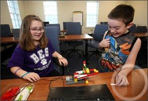 Robotics camp helps spur creativity - Rocky Mount Telegram