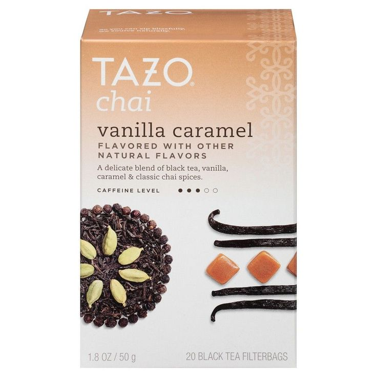 Tazo Chai Vanil Caraml 20CT