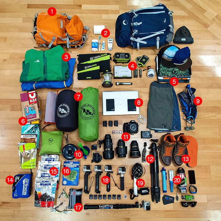 Goal Zero Ambassador Travis Burke is arriving in Hawaii today and wanted to share some of his essentials for the big trip. Over the next 3 weeks he will be meeting up with all kinds of athletes and adventures as he explores both Oahu and Kauai. Some their adventures will include: backpacking...