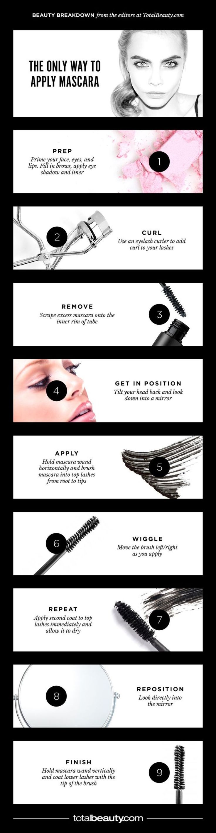 Stop! You're Applying Mascara All Wrong! - With our smudge-free, step-by-step guide, we promise: no more clumps or smudges... ever