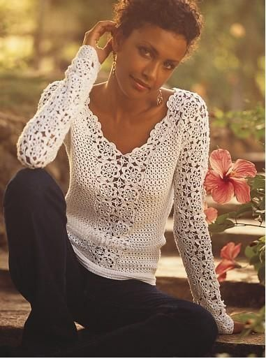 haneczka814 - bluzki, sweterki, topy...szydełkowe | Fotosik.pl
