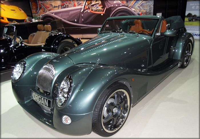blue morgan auto | Morgan Car