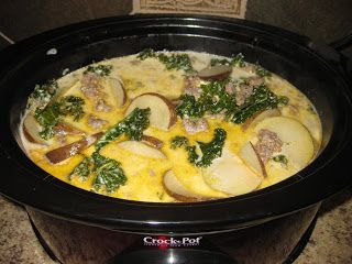 8 Best Images About Crockpot Recipes On Pinterest Zuppa Toscana Soup Crockpot And Spinach