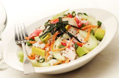 California Roll in a Bowl Recipe via @SparkPeople