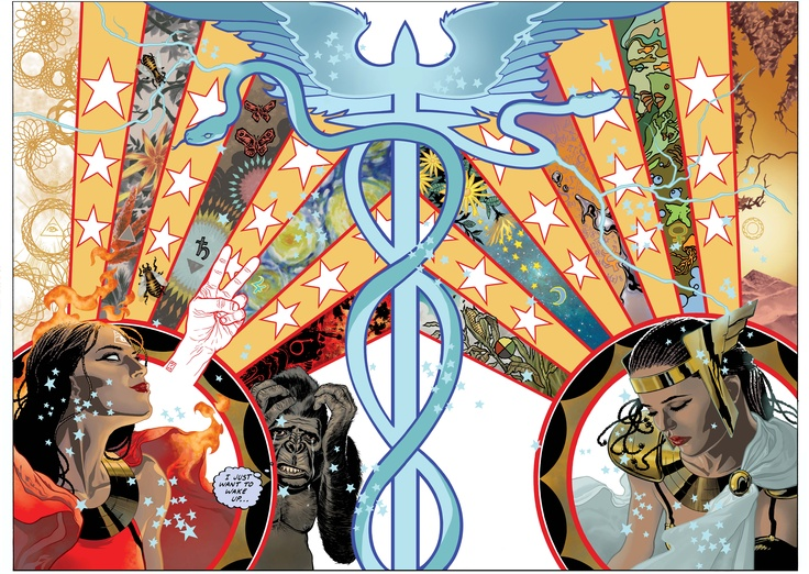 JH Williams IIIs Awesome Artwork For Absolute Promethea Volume