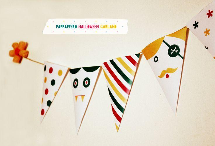 pappappero.com: PAPPAPPERO HALLOWEEN GARLAND