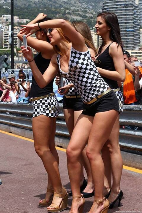 Race girls-monaco | Paddock girls, Formula 1 girls, Grid girls