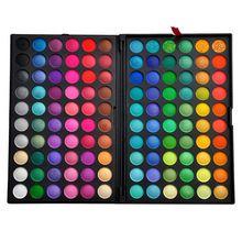 Nouveaux 120 couleurs pleines fard à paupières minérales cosmétiques Make Up maquillage professionnel Palette ombres à paupières Kit P120 # 1 V1005A(China (Mainland))