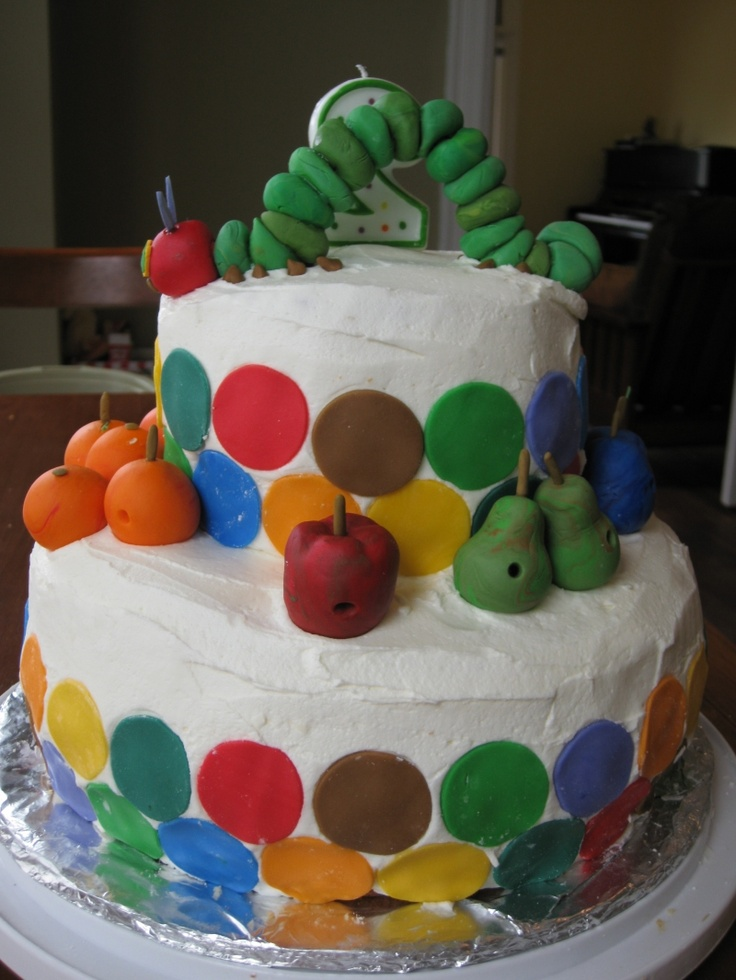 Very Hungry Caterpillar Butterfly Cake 1000+ images about The...