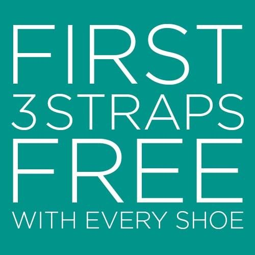 Choose your shoe style - First 3 straps free with every shoes