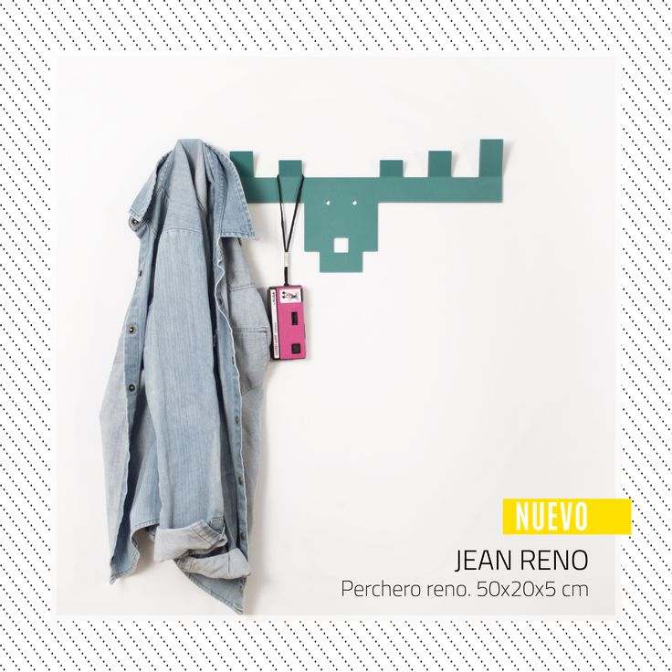 MOLE DESIGN | JEAN RENÓ - PERCHERO www.somosmole.com