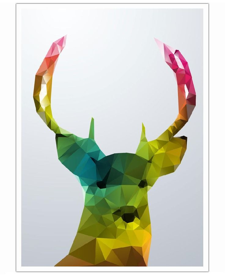 Crystal Deer VON Three Of The Possessed now on JUNIQE!