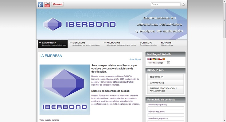 IBERBOND adhesivos industriales