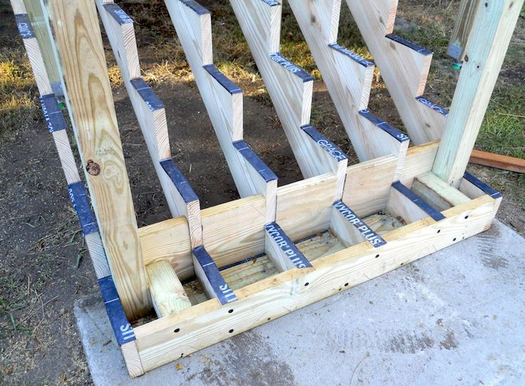 Beautiful Attaching Bottom Deck Posts | THISisCarpentry More