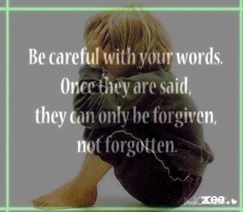 Forgiven/forgotten