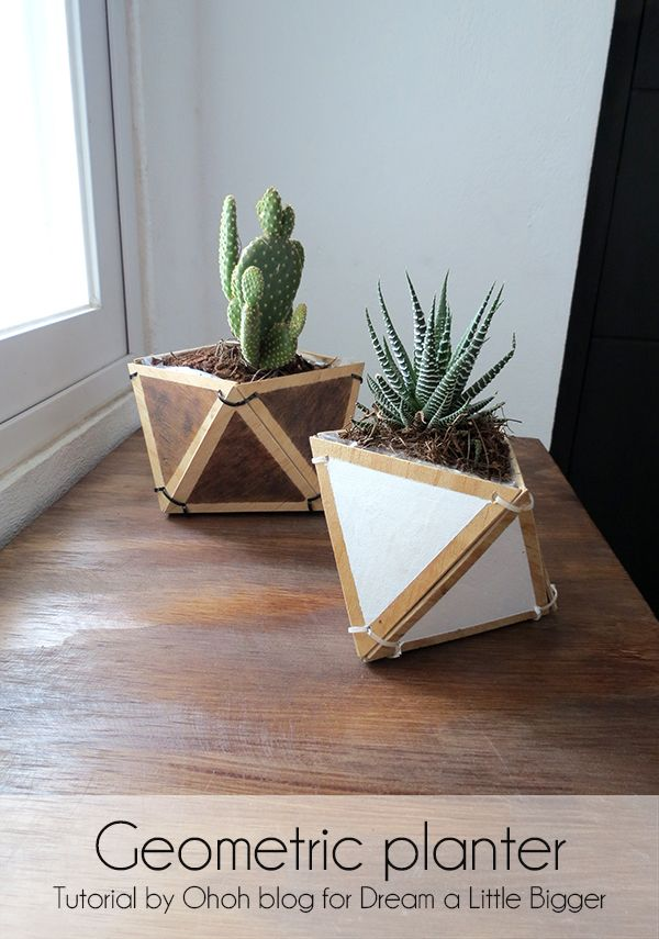 Geometric planter - Dream a Little Bigger