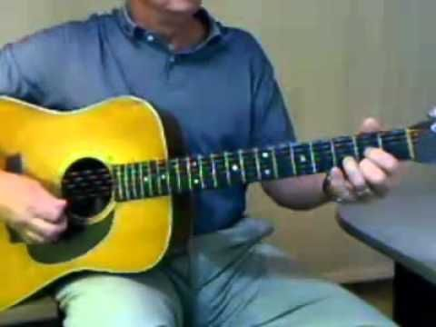2 minute song lesson learn the chords, pick pattern and strum pattern to play along with House of the Rising Sun by The Animals.