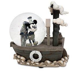 Steam Boat Willie Snow Globe
