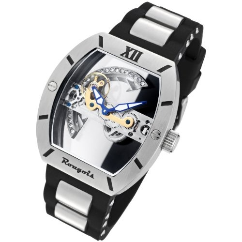 Rougois Automatic Skeleton Watch with Bridge Mechanical Movement cool http://www.shop.com/sophjazzmedia/~~skeleton+watch-g5-t1-k30-internalsearch+260.xhtml
