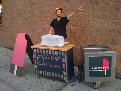 small carts: People's Pops on the High Line!