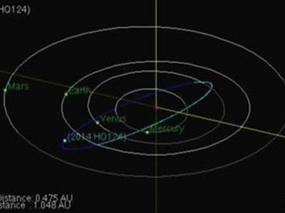 El asteroide 'La Bestia', de 325 metros de diámetro, pasará este domingo muy cerca de la Tierra