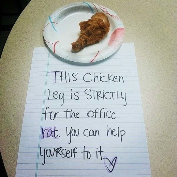 Best Funny PassiveAggressive Notes Images On Pinterest Note - 21 hilarious reasons break someone