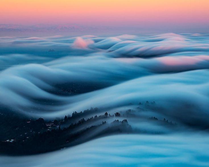Nick Steinberg Captures Breathtaking Landscapes of Foggy San Francisco's Climate