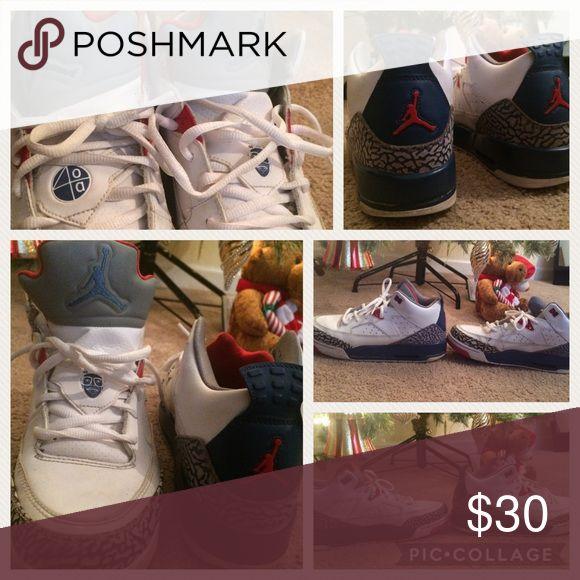 Retro Jordans Size 7Y Spike Lee Used Still Lots Of Life Jordan Shoes Sneakers