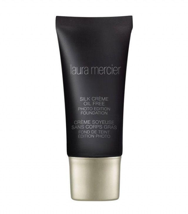 best foundation for acne: laura mercier silk creme oil free