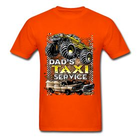This shirt is so cool. For dad's this is so true you are a taxi driver for you kids and for your wives. I have this shirt in black and I have it in different styles and sizes. Please come and get your taxi shirt at http://offroadstyles.spreadshirt.com/dad-s-taxi-servce-A16323162/customize/color/95