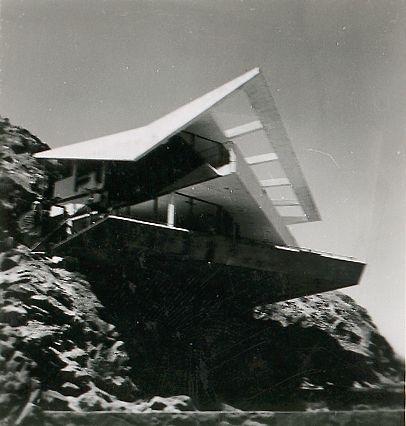 Fernandini House under construction, 1958 Weberhofer Archives