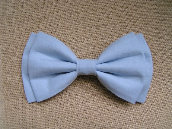 Hair Bow  Light Blue hair bow hair bows for by ClipaBowBoutique, $4.75