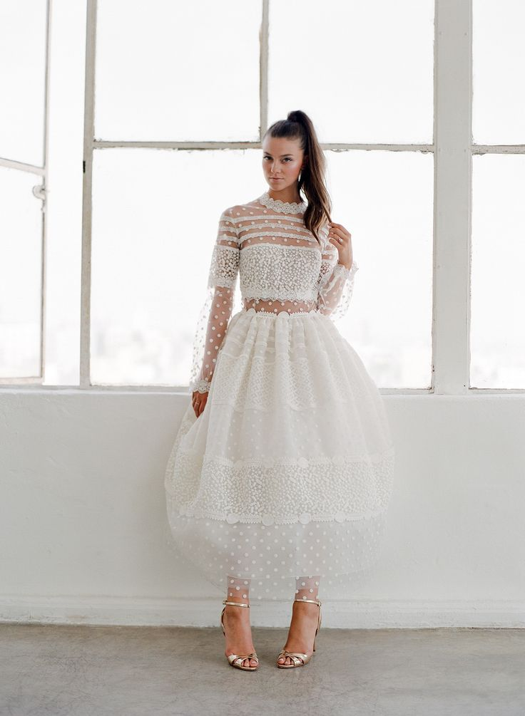 9982 best wedding dresses images on pinterest short for Wedding dress with swag sleeves