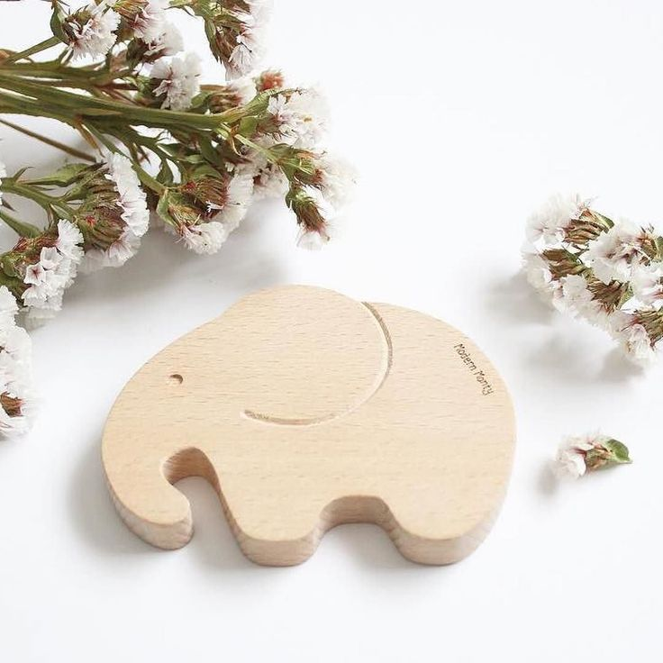 Wise Elephant Beech Wood teether toy - when only the best will do! Hes a safe natural wooden teether that doubles as a toy for imaginative play and a beautiful nursery decor piece . independently safety tested and certified  Crafted from the finest natural Beech wood  safe non-toxic and stylish .  @mason_makes_4