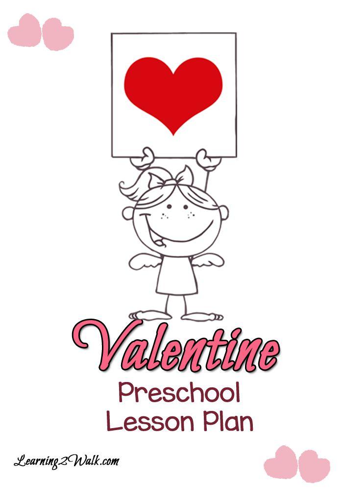Preschool Lesson Plan: Valentine