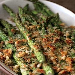 Spring Asparagus & Asiago Gratin | yummy foods | Pinterest