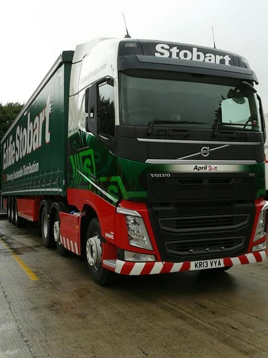 New Volvo FH - Eddie Stobart for April Jones