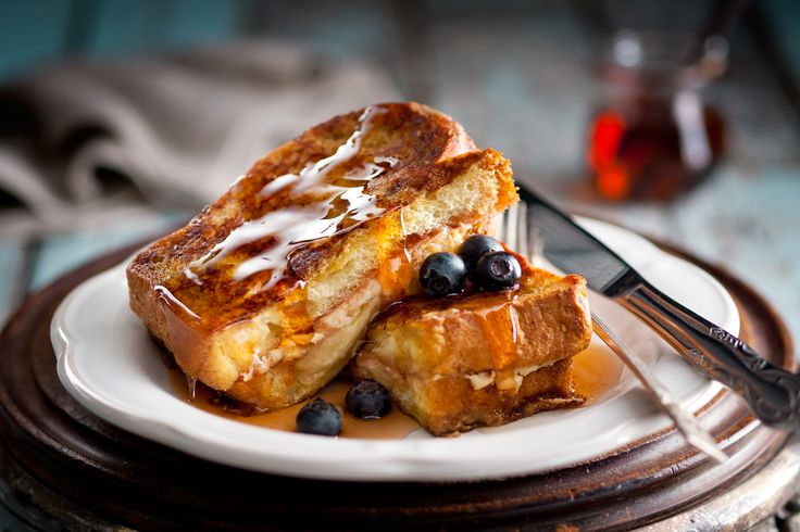 Cheese & Strawberry Stuffed French Toast #spreadtheword