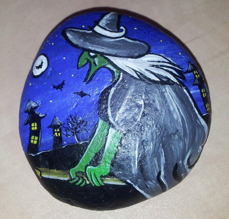 Malování na kameny - čarodějnice (carodejnice.jpg)