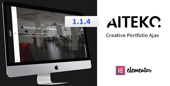 Aiteko - Creative Portfolio Ajax Elementor WordPress Theme