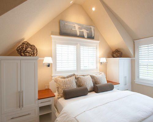 Dormer Storage Bedroom Design Ideas, Remodels & Photos