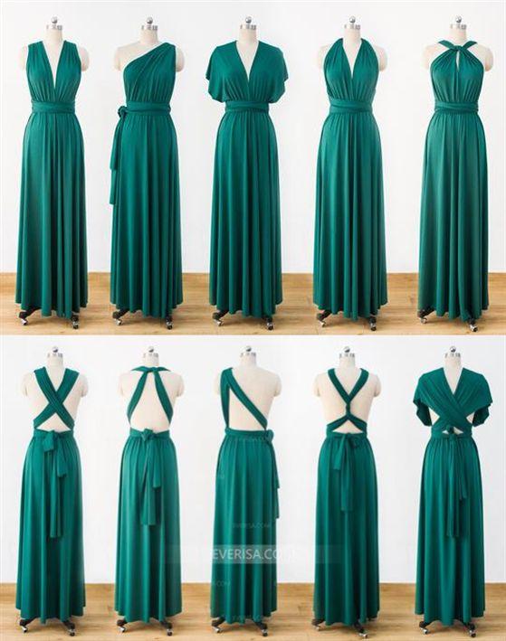 b3035f239a5c Green Infinity Dress,Multiway Wrap Bridesmaid Dress,Convertable Dress #Green  #dress #INFINITY #Bridesmaid #wrap