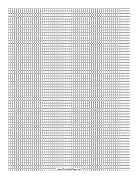 Printable Seed Bead Loom Pattern