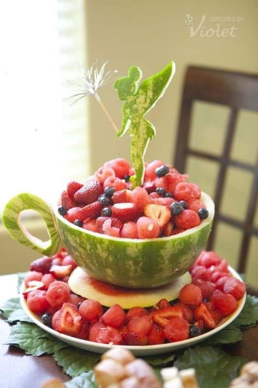 watermelon tea cup